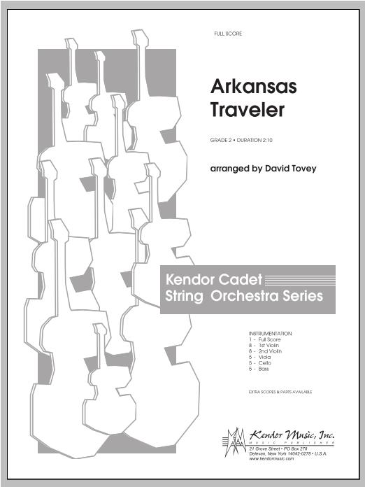 Arkansas Traveler - Full Score Sheet Music