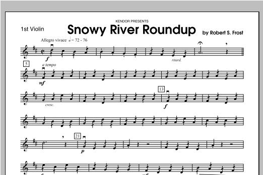 Snowy River Roundup - Violin 1 Sheet Music