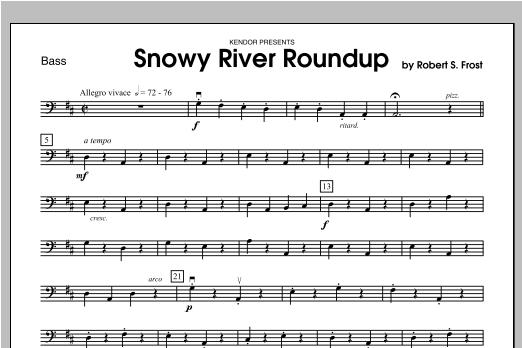 Snowy River Roundup - Bass Sheet Music