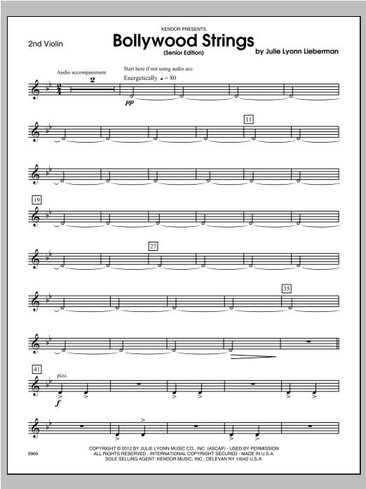 Bollywood Strings (Senior Edition) - Violin 2 Sheet Music