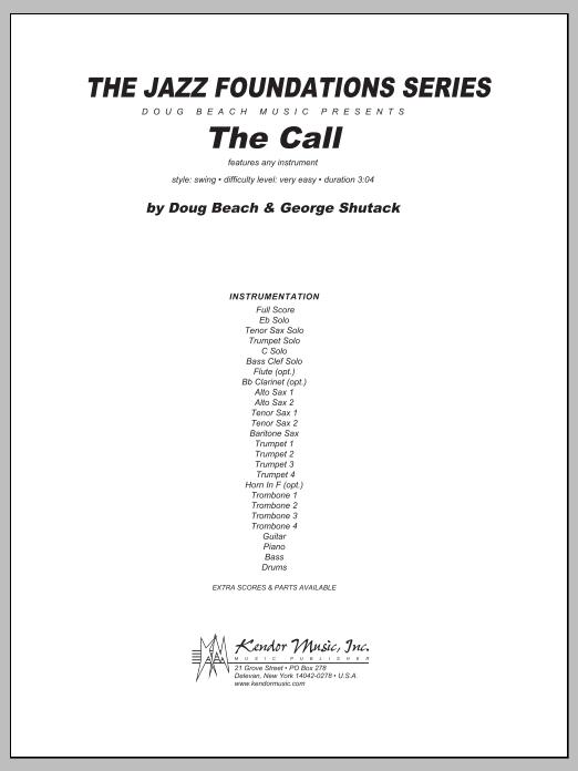 Call, The - Full Score Sheet Music