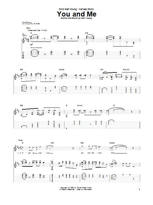 You And Me (Guitar Tab)