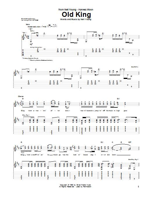 Old King (Guitar Tab)