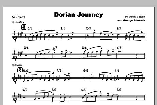 Dorian Journey - Solo Sheet Music