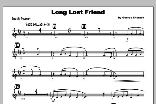 Long Lost Friend - Trumpet 2 Sheet Music