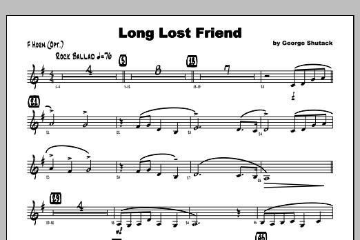 Long Lost Friend - Horn Sheet Music