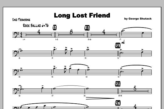 Long Lost Friend - Trombone 2 Sheet Music