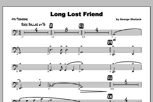 Long Lost Friend - Trombone 4 Sheet Music