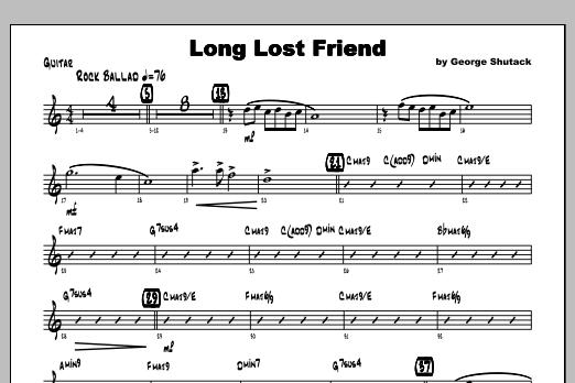 Long Lost Friend - Guitar Sheet Music