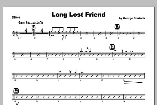 Long Lost Friend - Drums Sheet Music