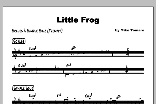Little Frog - Featured Part Partition Digitale