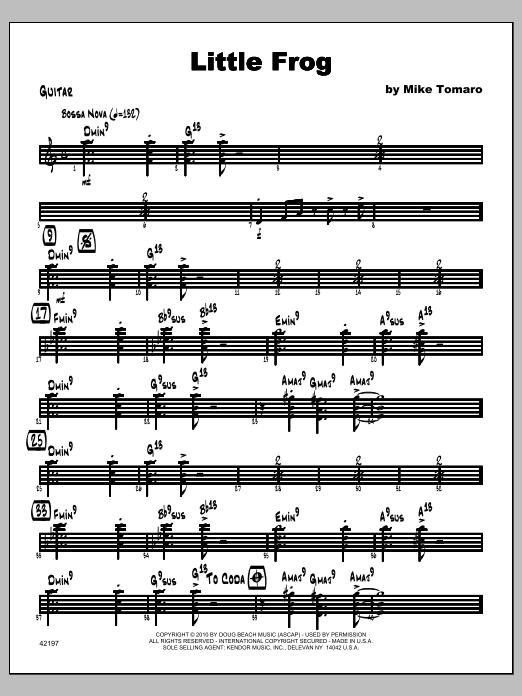 Little Frog - Guitar Sheet Music