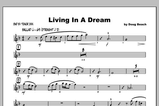 Living In A Dream - Tenor Sax 2 Sheet Music