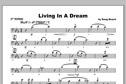Living In A Dream - Trombone 1 Sheet Music
