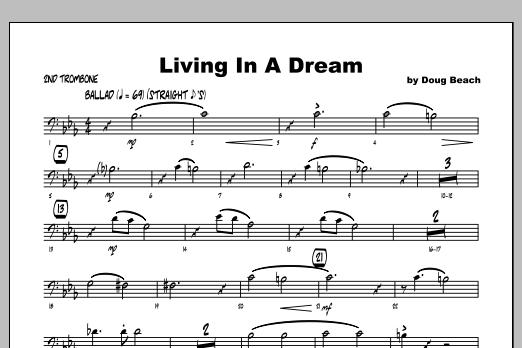 Living In A Dream - Trombone 2 Sheet Music