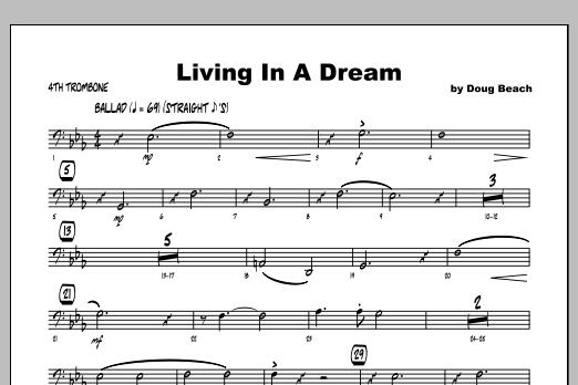 Living In A Dream - Trombone 4 Sheet Music