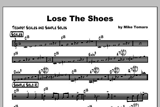 Lose The Shoes - Featured Part Digitale Noten