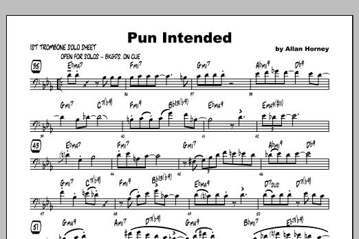 Pun Intended - Solo Sheet Music