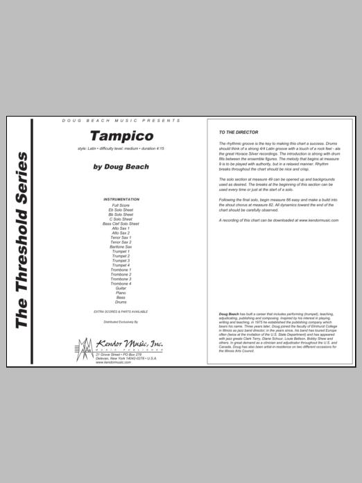 Tampico - Full Score Sheet Music