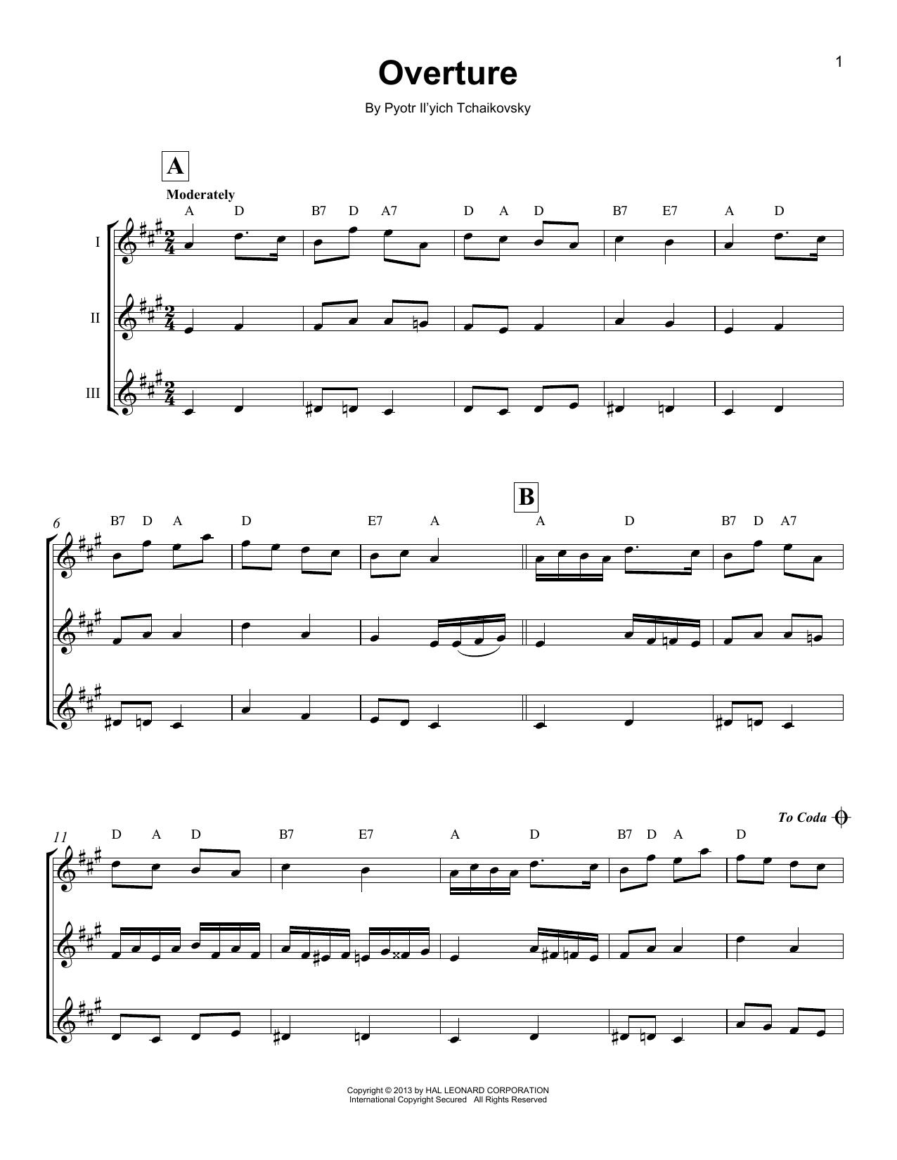 Overture (Ukulele Ensemble)
