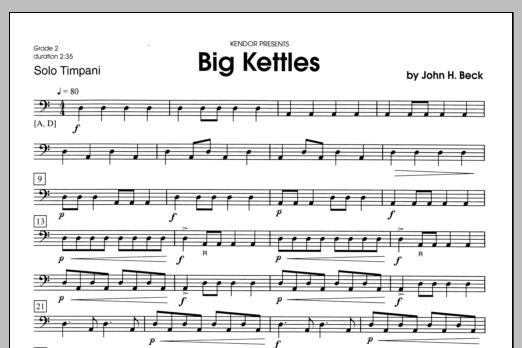 Big Kettles Sheet Music