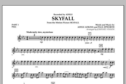 Skyfall - Pt.1 - Flute (Concert Band: Flex-Band)