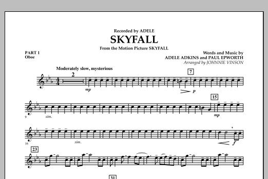 Skyfall - Pt.1 - Oboe (Concert Band: Flex-Band)