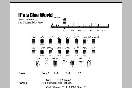 It's A Blue World Sheet Music