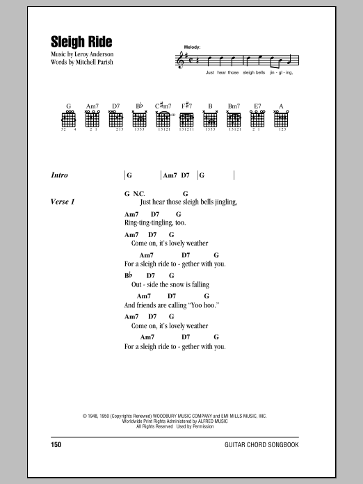 Sleigh Ride Sheet Music