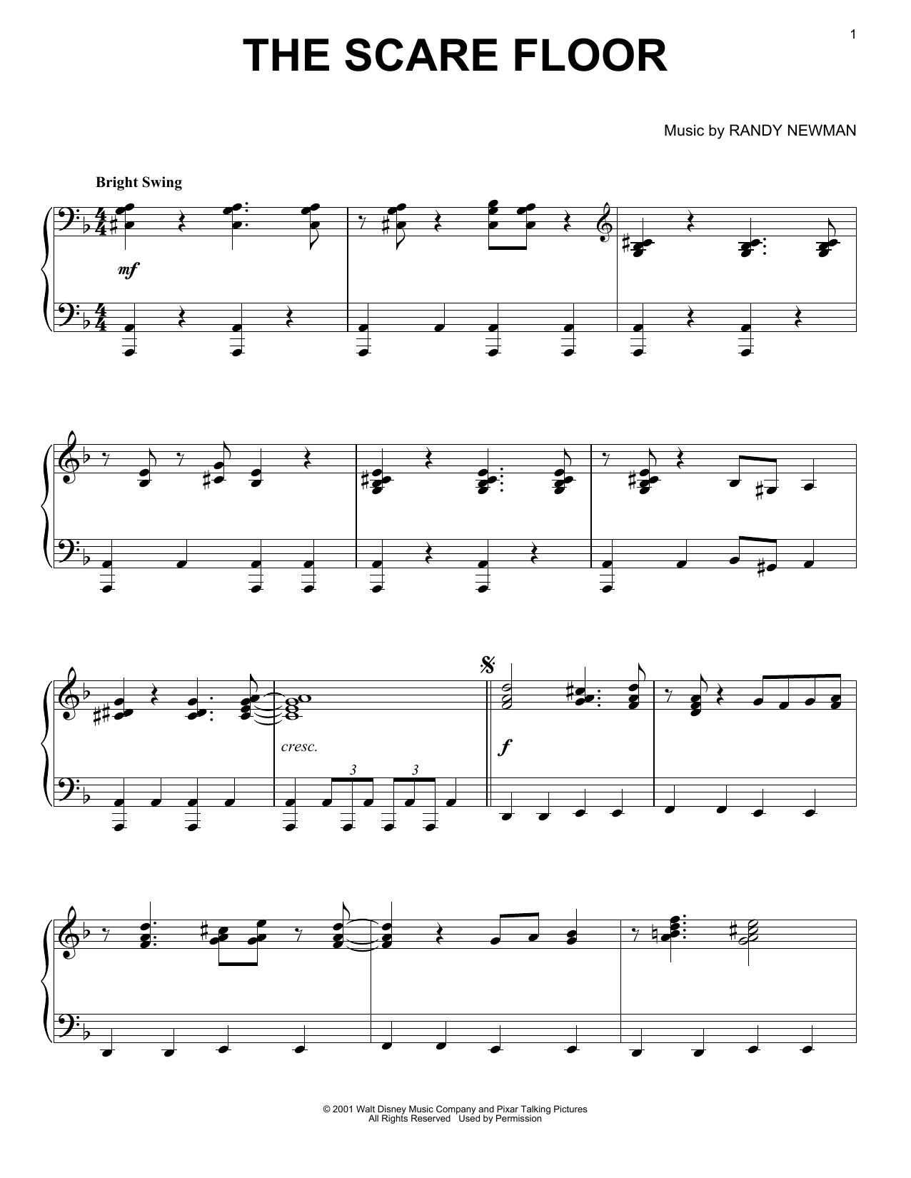The Scare Floor (Piano Solo)