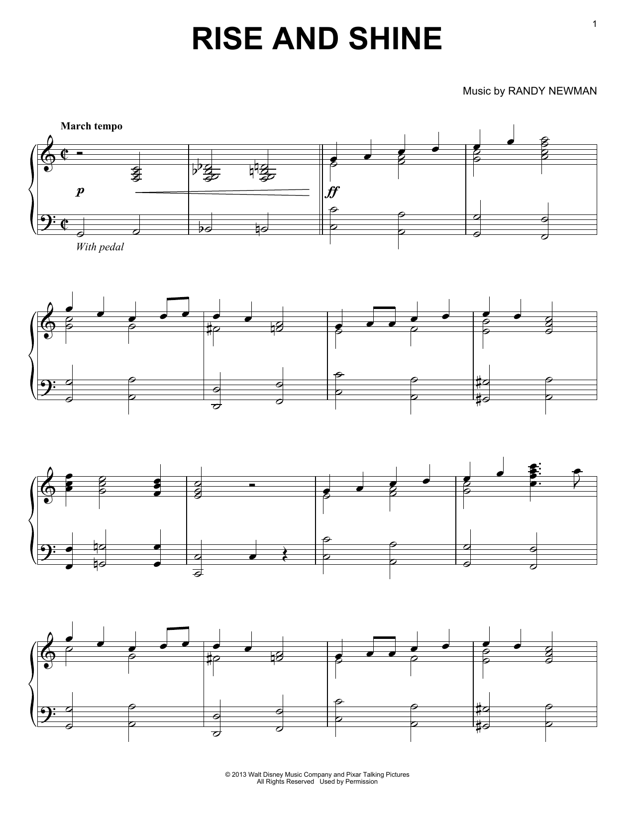Rise And Shine (Piano Solo)