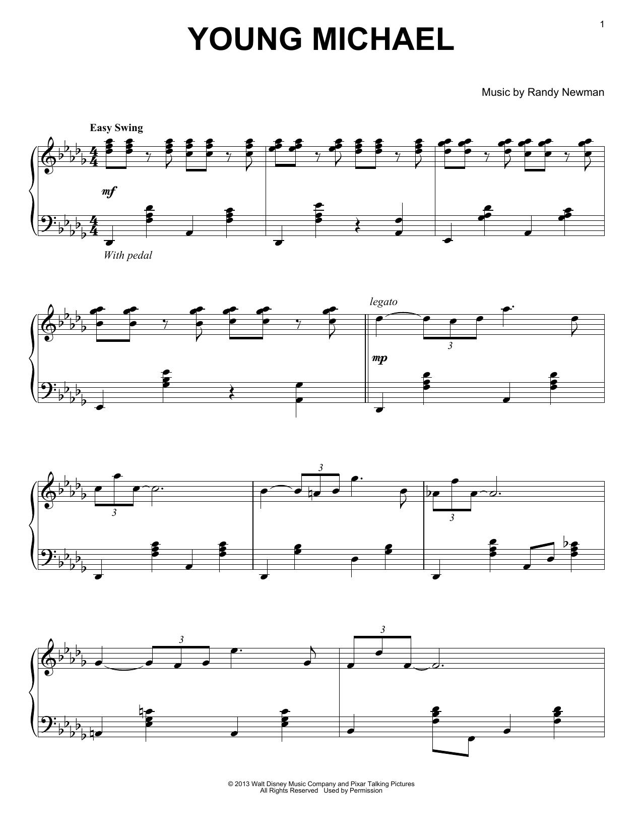 Young Michael (Piano Solo)