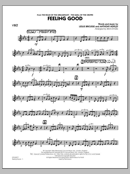 Feeling Good - Vibes (Jazz Ensemble)