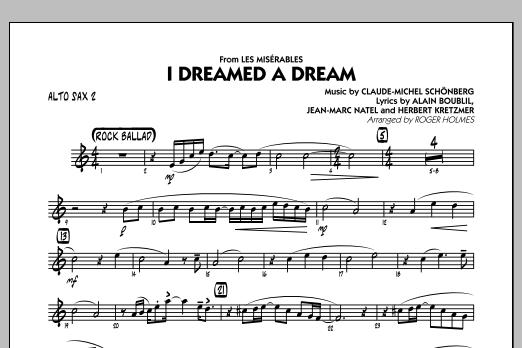 I Dreamed a Dream (from Les Miserables) - Alto Sax 2 (Jazz Ensemble)