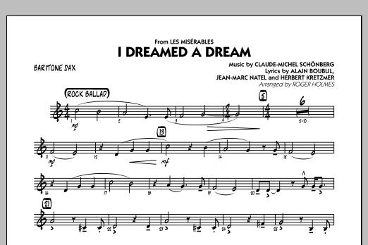 I Dreamed a Dream (from Les Miserables) - Baritone Sax (Jazz Ensemble)