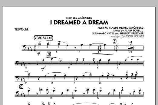 I Dreamed a Dream (from Les Miserables) - Trombone 1 (Jazz Ensemble)