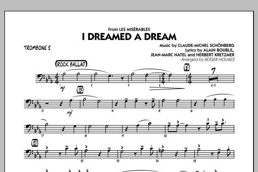I Dreamed a Dream (from Les Miserables) - Trombone 2 (Jazz Ensemble)