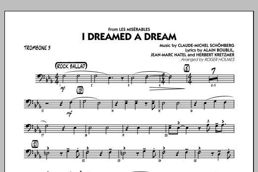 I Dreamed a Dream (from Les Miserables) - Trombone 3 (Jazz Ensemble)