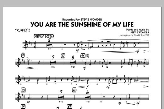 You Are the Sunshine of My Life (Key: C) - Trumpet 2 (Jazz Ensemble)