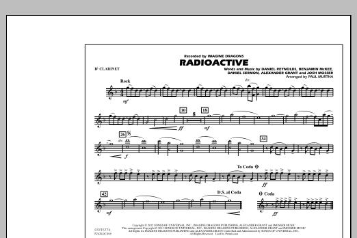Radioactive - Bb Clarinet (Marching Band)