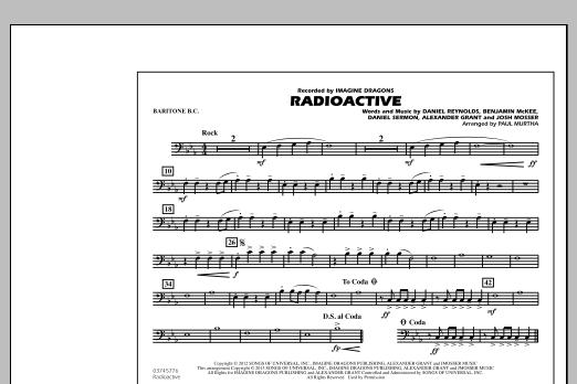 Radioactive - Baritone B.C. (Marching Band)