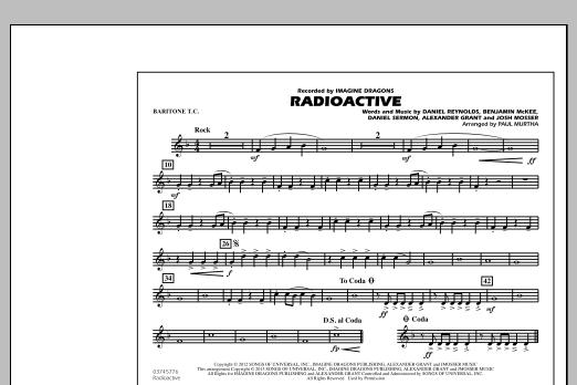 Radioactive - Baritone T.C. (Marching Band)