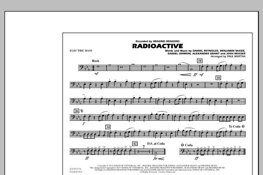 Radioactive - Electric Bass (Marching Band)