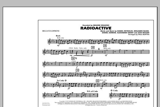 Radioactive - Bells/Xylophone (Marching Band)