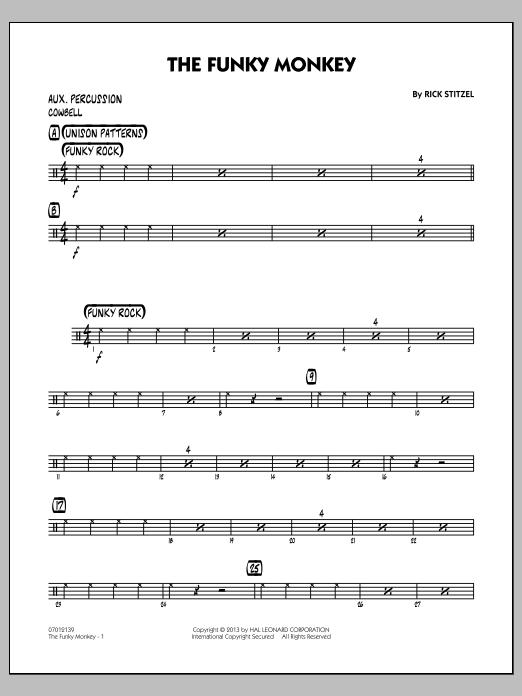 The Funky Monkey - Aux Percussion (Jazz Ensemble)