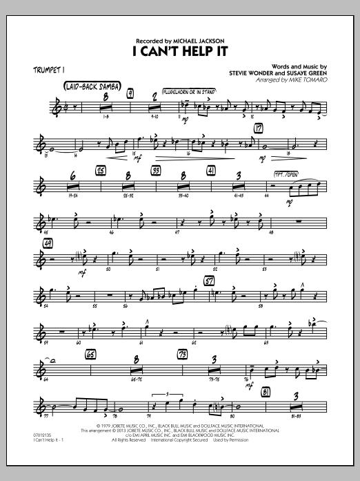 I Can't Help It - Trumpet 1 (Jazz Ensemble)