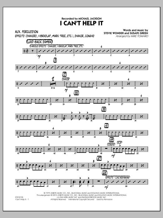 I Can't Help It - Aux Percussion (Jazz Ensemble)