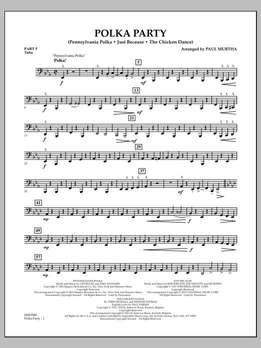 Polka Party - Pt.5 - Tuba (Flex-Band)