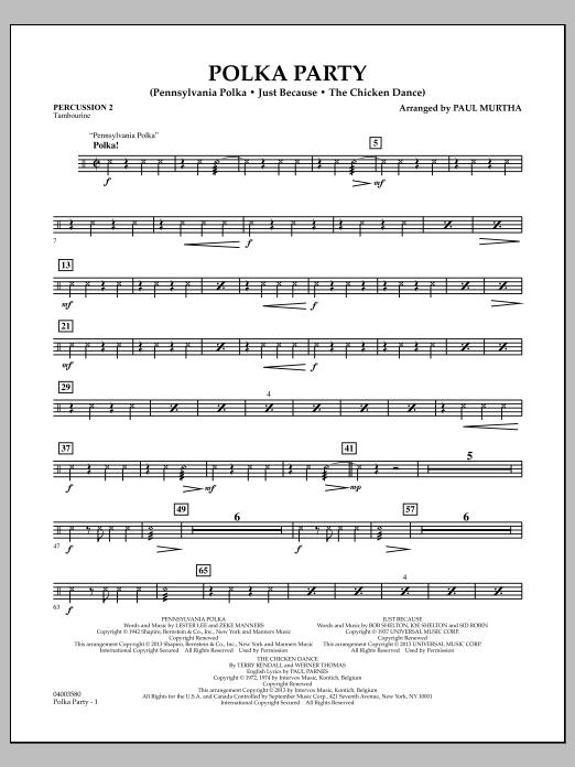 Polka Party - Percussion 2 (Flex-Band)
