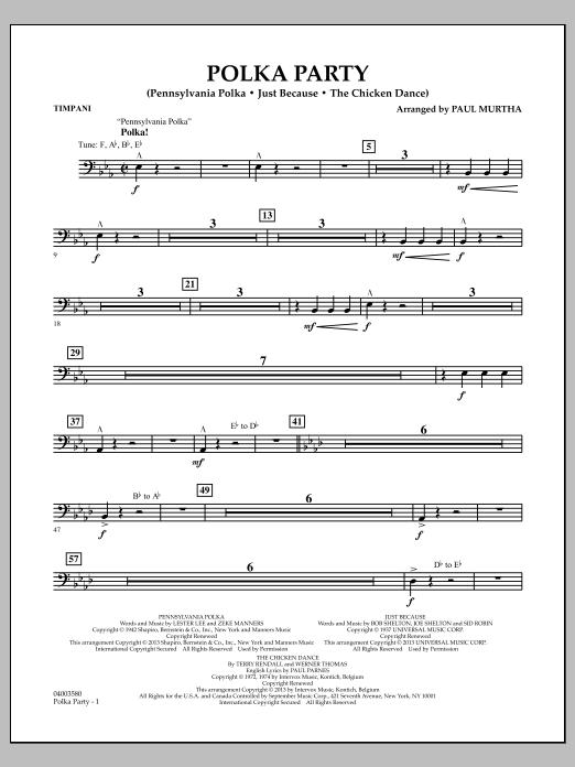 Polka Party - Timpani (Flex-Band)